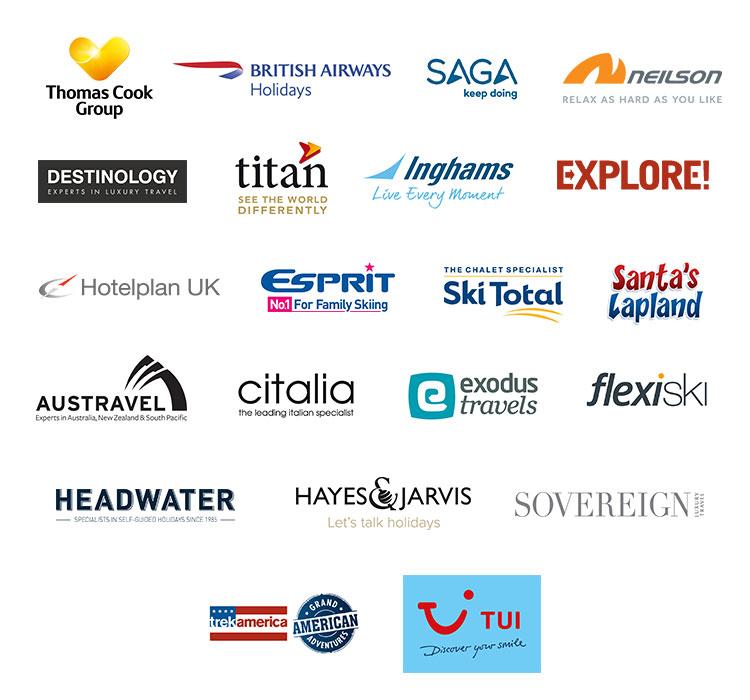 Safer Tourism pledge logos