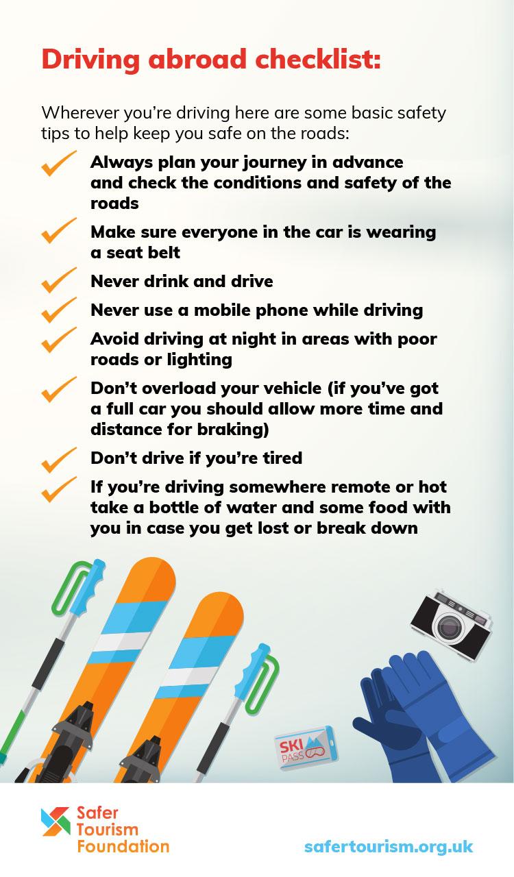 Driving abroad checklist