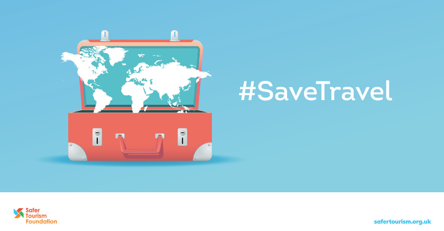 Support #SaveTravel  so that you can continue to travel safely